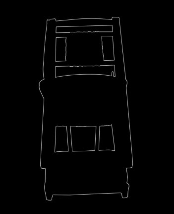 Outline 15, 2006 - Dibujo - Impresión de contacto - Plata en gelatina - 35 x 27 cm
