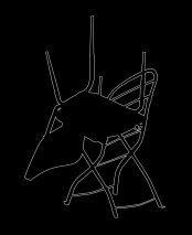 Outline 19b, 2006 - Dibujo - Impresión de contacto - Plata en gelatina - 35 x 27 cm