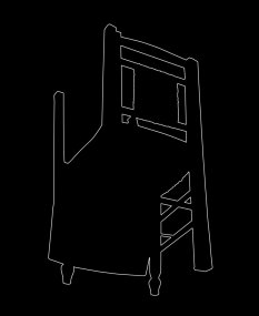 Outline 21b, 2006 - Dibujo - Impresión de contacto - Plata en gelatina - 35 x 27 cm