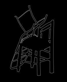 Outline 22a, 2006 - Dibujo - Impresión de contacto - Plata en gelatina - 35 x 27 cm