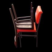 Sin título (aulacomedor, )2006 - Fotografía color - 6 x 6 cm