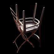 Sin título (comedorjardín), 2006 - Fotografía color - 6 x 6 cm