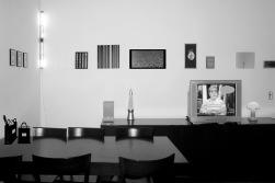 Sin título (Comedor), 2007 - Foto intervenida - Plata en gelatina - Medidas variables