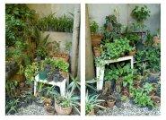 Springgarden, 2007/2008 - Foto intervenida -Fotografía color - 2 piezas, medidas variables