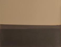 Inmersión N°7, 2015/2016 - Papel fotográfico velado, parcialmente revelado y estabilizado - 20 x 25,3 cm