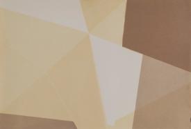 Repliegue X, 2015/2016 - Papel fotográfico plegado, velado y estabilizado - Plata en gelatina -13,5 x 20 cm