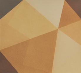Repliegue XI, 2015/2016 - Papel fotográfico plegado, velado y estabilizado - Plata en gelatina - 18 x 20 cm
