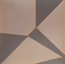 Repliegue XII, 2015/2016 - Papel fotográfico plegado, velado y estabilizado - Plata en gelatina - 21,3 x 21,5 cm