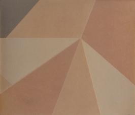 Repliegue III, 2015/2016 - Papel fotográfico plegado, velado y estabilizado - Plata en gelatina -18 x 21,3 cm