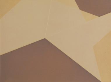 Repliegue VI, 2015/2016 - Papel fotográfico plegado, velado y estabilizado - Plata en gelatina - 17,8 x 24 cm