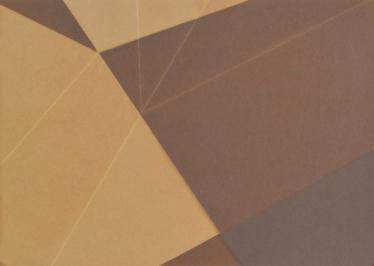 Repliegue VIII, 2015/2016 - Papel fotográfico plegado, velado y estabilizado - Plata en gelatina - 11 x 15,5 cm