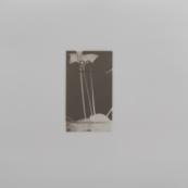 Sin título (Cala negra), 2015/2016 - Plata en gelatina - 25 x 25 cm