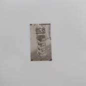 Sin título (Pila callejera II), 2015/2016 - Plata en gelatina - 25 x 25 cm