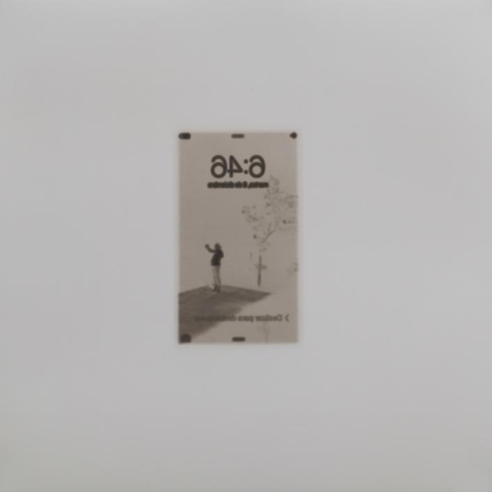 Sin título (Renata), 2015/2016 - Plata en gelatina - 25 x 25 cm