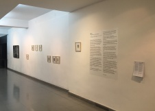 """Affaire"", vista de instalación, Centro Cultural Ricardo Rojas, 2017"