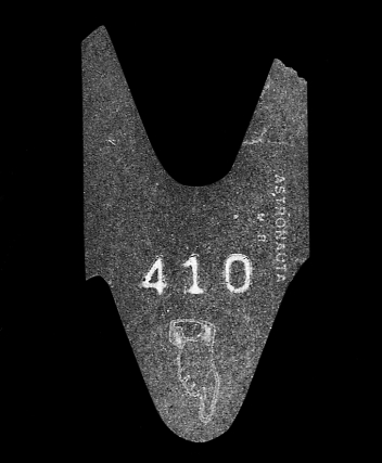 """Sin título (410), de la serie """"La Espera"""", 1995 - Objeto proyectado - Plata en gelatina -Medidas variables"""