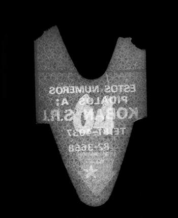 """Sin título (64), de la serie """"La Espera"""", 1995 - Objeto proyectado - Plata en gelatina - Medidas variables"""