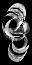 Sin título III, 1997/1998 - Fotograma sobre película - Plata en gelatina - 200 x 100 cm