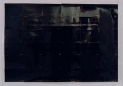 36 vistas de a casa de noche, 1998 - Fotografía color - Laminado - 36 piezas, 9 x 13 cm c/u