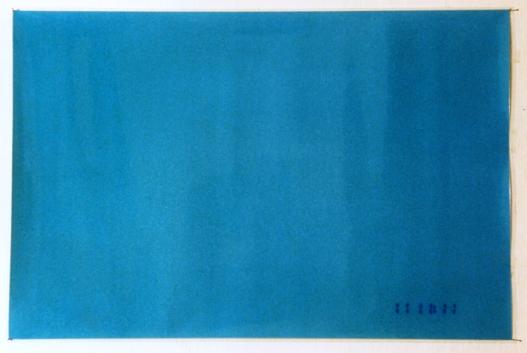 Blue databack, 1998 - Fotografía color - Laminado - Medidas variables