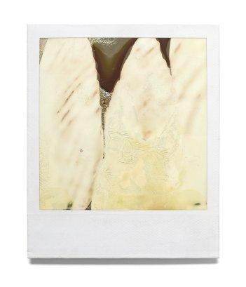 Sin título I, 1997 - Polaroid intervenida - 9 x 11 cm