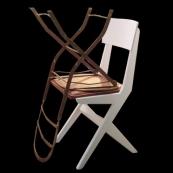 Sin título (dormitoriojardín), 2006 - Fotografía color - 6 x 6 cm