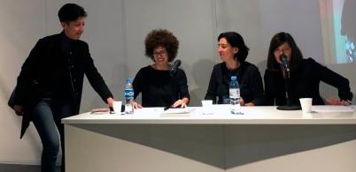 Nancy Rojas, Andrea Ostera, Verónica Tell y Graciela Speranza