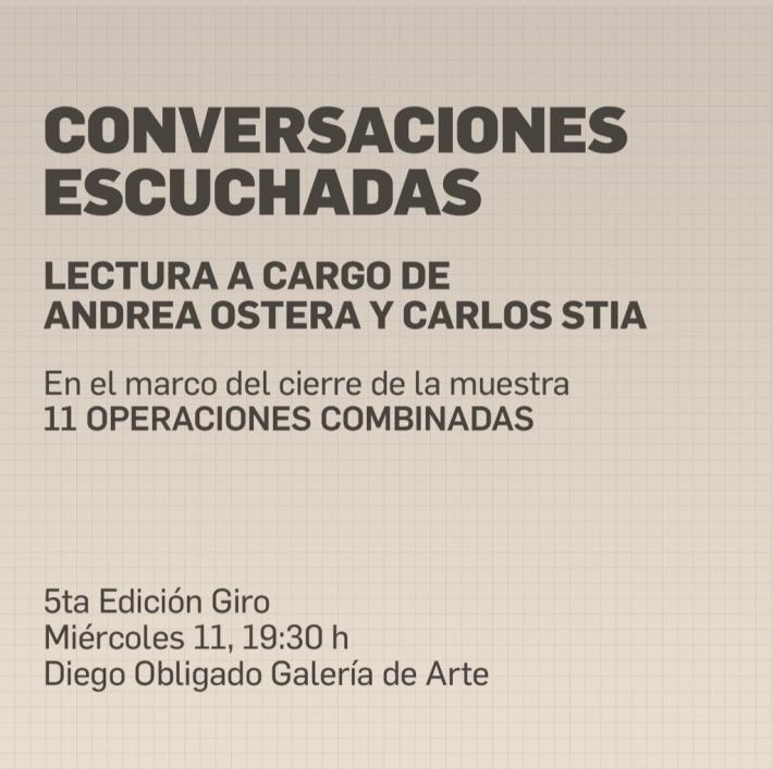 CONVERSACIONES ESCUCHADAS
